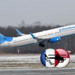 Авиаперевозчик Победа в феврале перевез 624000 пассажиров